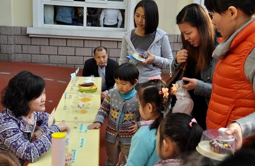 我院为幼儿园开展食品安全健康营养志愿服务